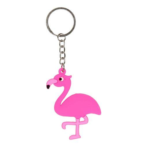 roze flamingo sleutelhanger