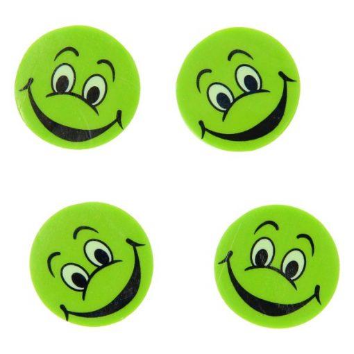 gezicht gum groen, traktatie in kleur