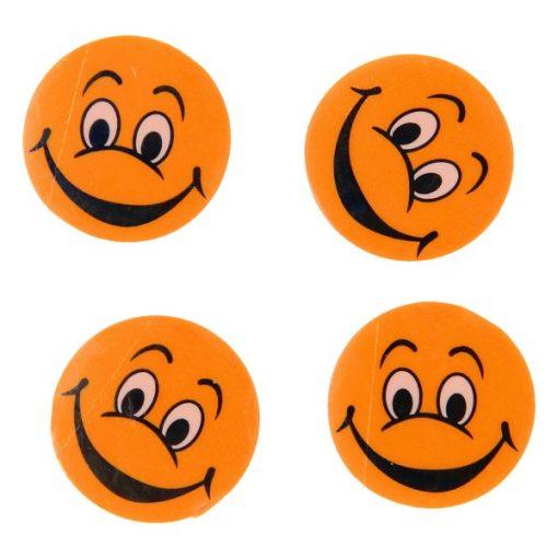 gezicht gum oranje, uitdeelkadootje