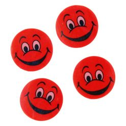 gezicht gum rood, traktatie uitdeelkadootje