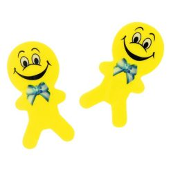 gezicht gum poppetje geel
