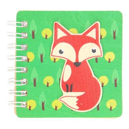 bosdieren notitieboekje vos