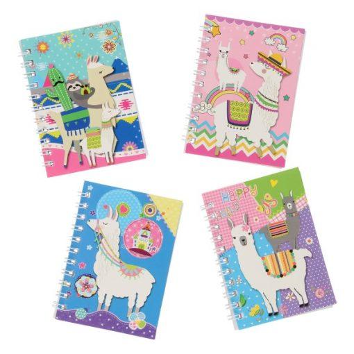 notitieboekje alpaca, notitieboekje lama