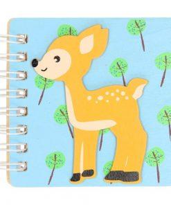 bosdieren notitieboekje ree hertje