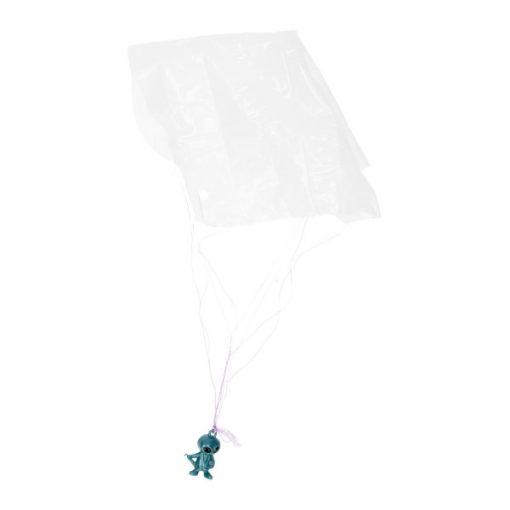 ruimtewezen parachutist blauw