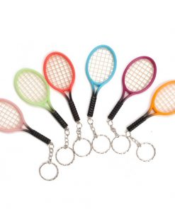 sleutelhanger tennis racket, traktatie tennis