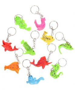 sleutelhanger zeedieren, sleutelhanger waterdieren
