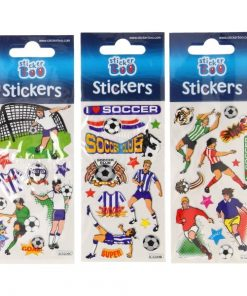 stickervel voetbal