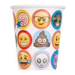 kartonnen emoji beker traktatie