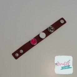 foto armband bruin