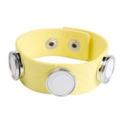 foto armband geel 3 foto's