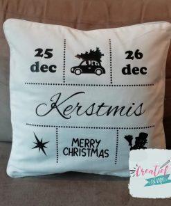 kussenhoes kerstmis
