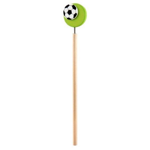 voetbal potlood groen