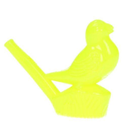 waterfluitje vogel geel