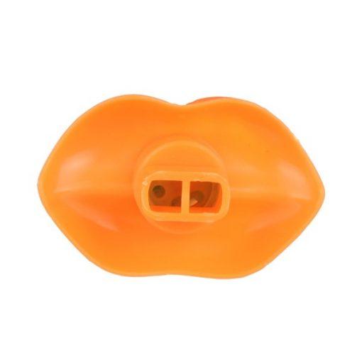fluitende lippen, lippen fluitje oranje
