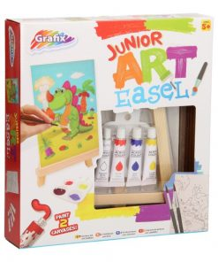 schilderset kind in doos