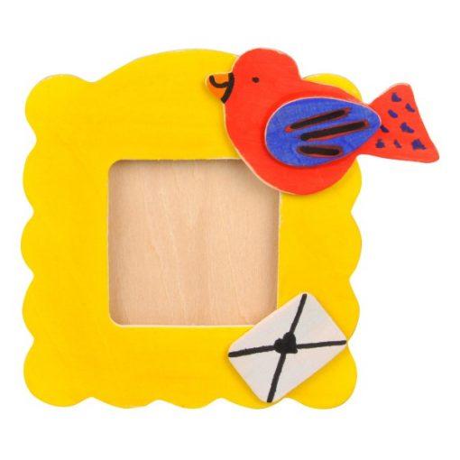 kleur je eigen houten foto lijst DIY creatief