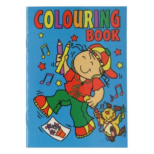 kleurboekje compact blauw