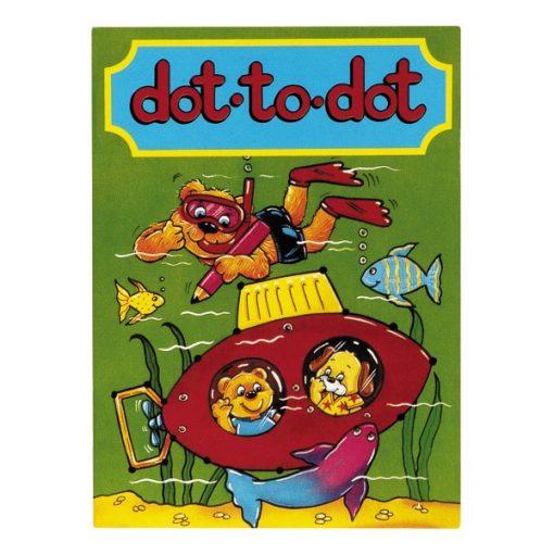 kleurboekje verbind de cijfers, kleurboekje dot to dot, kleurboek traktatie