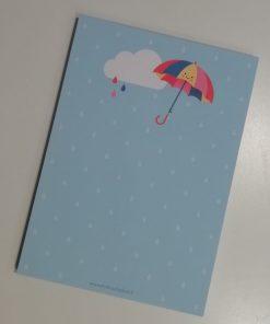 notitieblok paraplu, aju paraplu