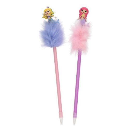 fluffy pen met zeemeermin, zeemeermin traktatie, traktatie meisje