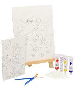 kinderschilderset, schilderset met ezel voor kinderen