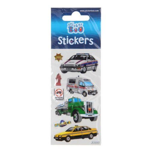 stickervel voertuigen