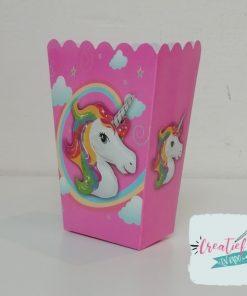 traktatie doosje unicorn