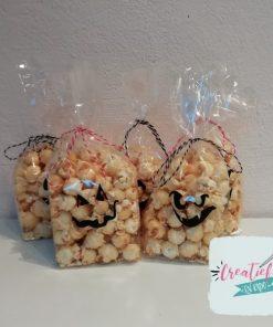 halloween traktatie zakjes popcorn