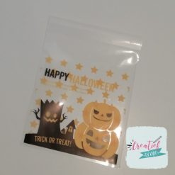 Halloween traktatie zakje, trick or treat traktatiee