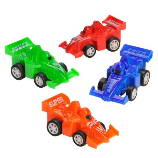 raceauto pull back, auto traktatie, traktatie jongens