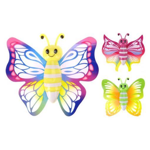 vlinder raamloper, vlinder traktatie