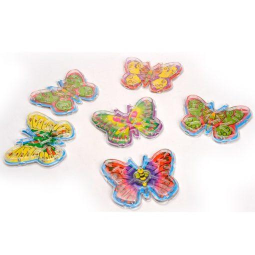 vlinder uitdeelkadootjes, vlinder geduldspel, traktatie meisje