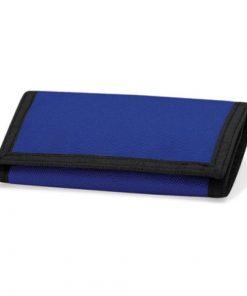 portemonnee met naam, portemonnee blauw
