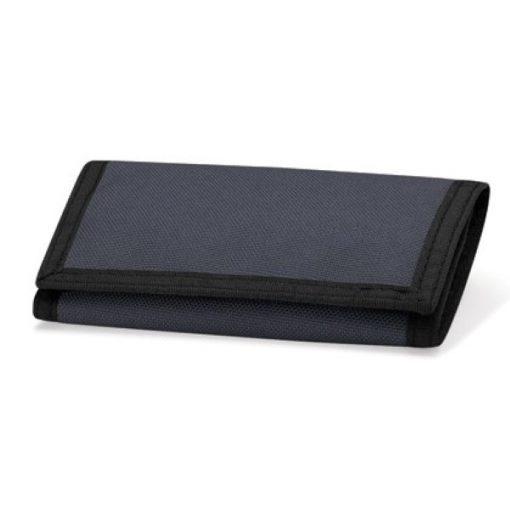 portemonnee met naam, portemonnee grijs