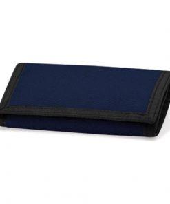 portemonnee navy blauw, portemonnee met naam