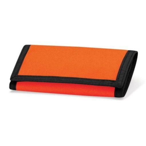 portemonnee met naam, portemonnee oranje