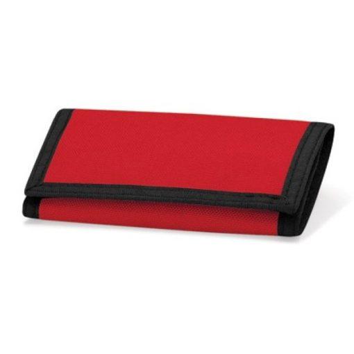 portemonnee rood, portemonnee met naam
