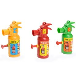 waterpistooltje brandblusser, brandweer traktatie, uitdeelkadootje