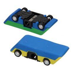gum en puntenslijper auto, auto puntenslijper, auto gum, voertuigen traktatie, auto traktatie, uitdeelkadootje