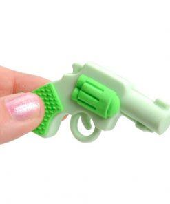 pistool gum, gum gekleurd, gekleurd pistool, kleur traktatie, gum traktatie, uitdeelkadootjes