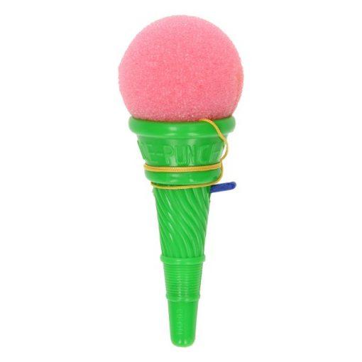 ijsjesschieter groen, schietspelletje, foam ijsje, zomer traktatie, uitdeelcadeautje