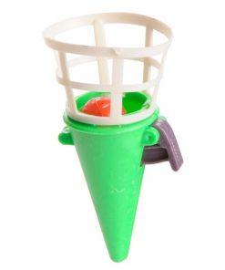 mini vangbeker groen, spel traktatie, uitdeelkadootje,