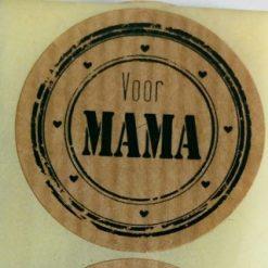 sticker voor mama, sluitzegel voor mama, cadeau sticker moederdag