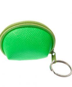 sleutelhanger portemonnee neon groen, neon portemonnee, sleutelhanger portemonnee, meiden tratatie