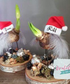 kerstmuts met naam mini, mini kerstmuts bedruk