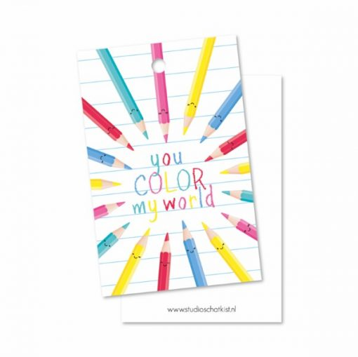 kadolabel you color my world