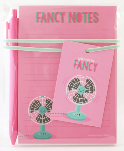 kadoset fancy notes, studio schatkist