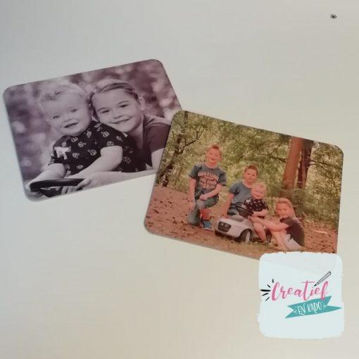 muismat met foto, foto cadeau opa en oma,