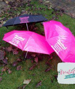 paraplu voetbal moeder, paraplu roze, paraplu zwart, paraplu zwart